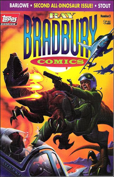 Ray Bradbury Comics 3-A by Topps