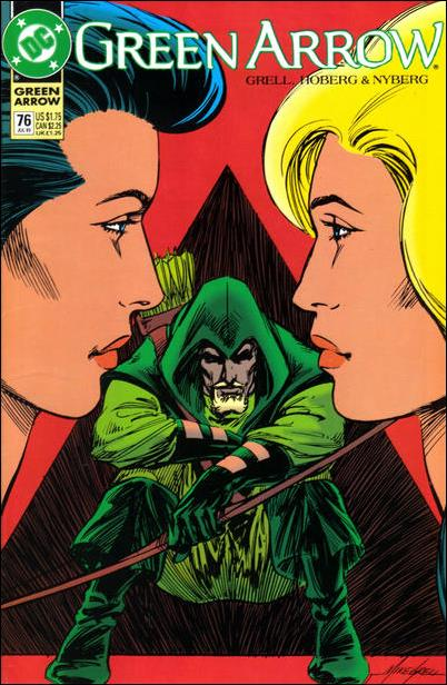 Green Arrow (1988) 76-A by DC