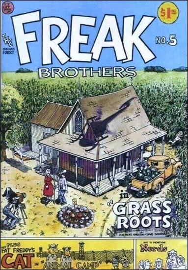 Fabulous Furry Freak Brothers 5-B by Rip Off Press