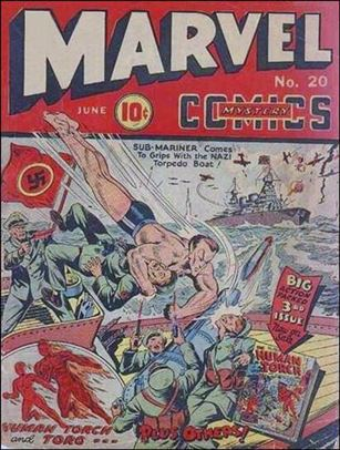 Marvel Mystery Comics (1939) 20-A