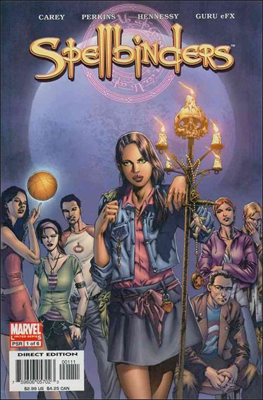 Spellbinders (2005) 1-A by Marvel
