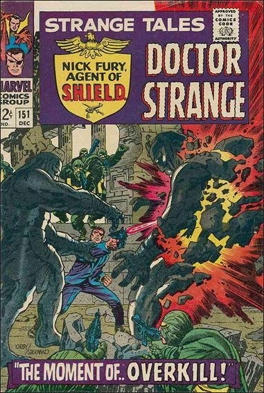 Strange Tales (1951) 151-A by Marvel