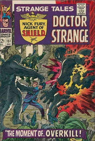 Strange Tales (1951) 151-A by Marvel