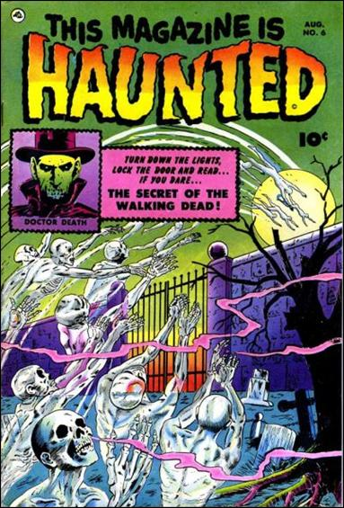 This Magazine is Haunted (1951) 6-A by Fawcett