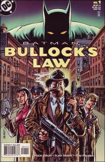 Batman: Bullock's Law 1-A by DC