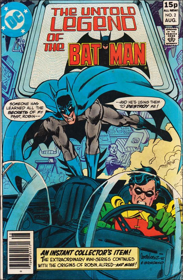Untold Legend of the Batman 2-B by DC