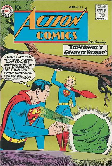 Action Comics (1938) 262-A by DC