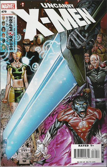 Uncanny X-Men (1981) 479-A by Marvel