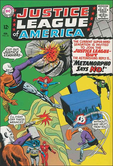 Justice League of America (1960) 42-A by DC