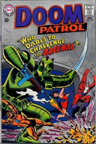 Doom Patrol (1964) 113-A by DC