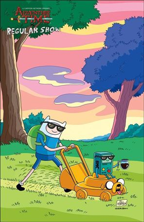 Adventure Time/Regular Show 2-C
