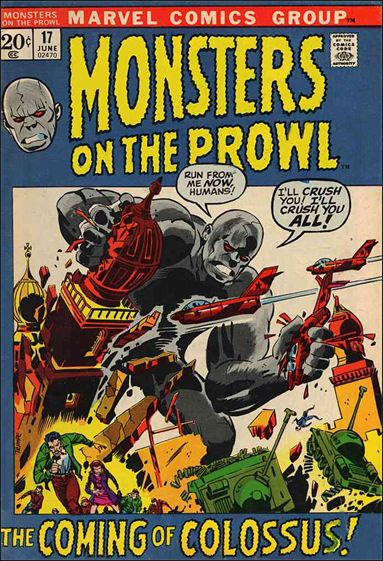 Monsters on the Prowl 17-A by Marvel