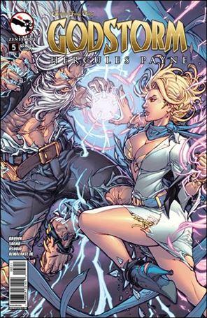 Grimm Fairy Tales Presents Godstorm: Hercules Payne 5-A