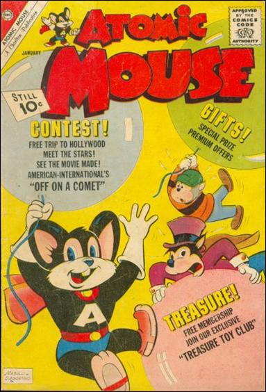 Atomic Mouse (1953) 46-A by Charlton