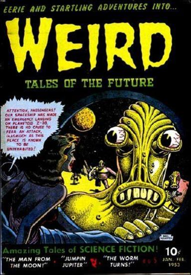 Weird Tales of the Future 5-A by Aragon Publishing