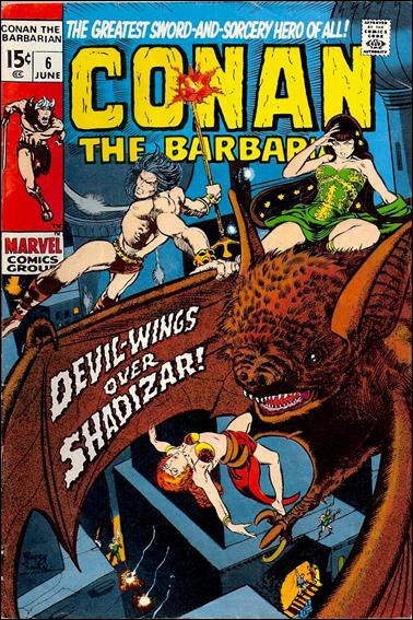 Conan the Barbarian (1970) 6-A by Marvel