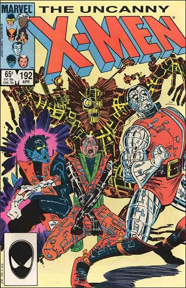 Uncanny X-Men (1981) 192-A by Marvel