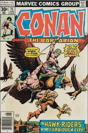 Conan the Barbarian (1970) 75-A by Marvel