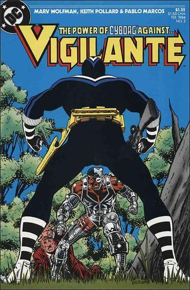 Vigilante (1983) 3-A by DC