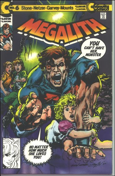 Megalith (1990) 6-A by Continuity Comics