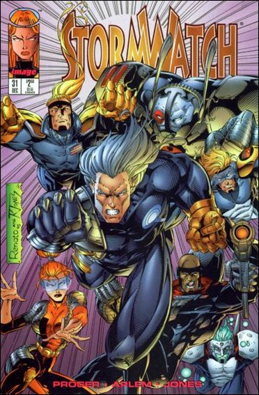 StormWatch (1993) 31-A by Image