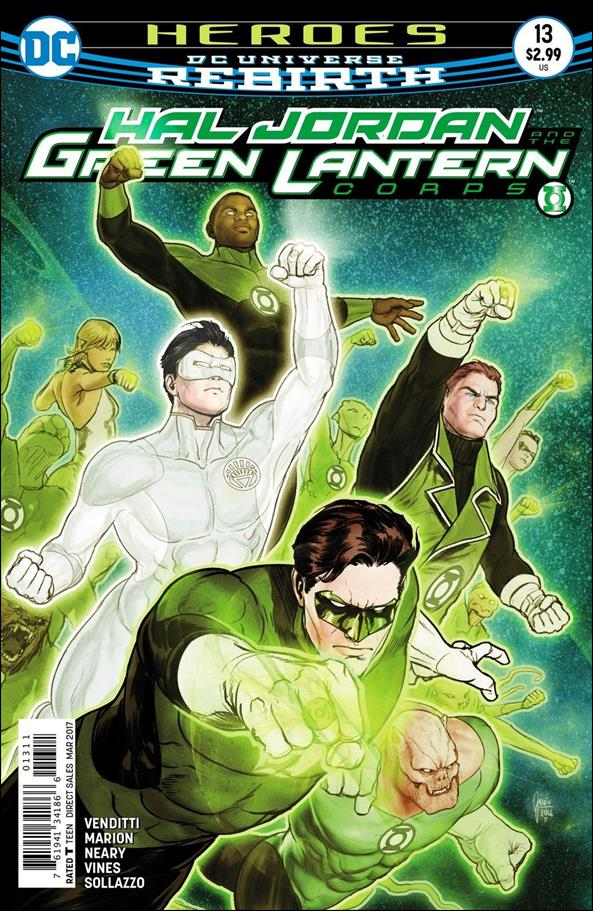 Hal Jordan and the Green Lantern Corps 13-A by DC
