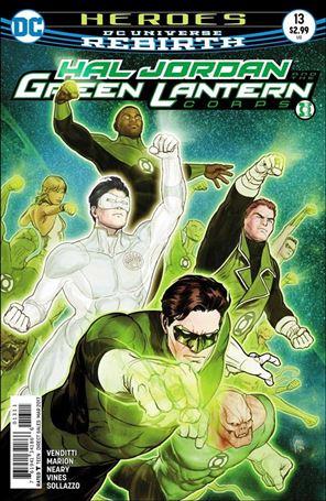 Hal Jordan and the Green Lantern Corps 13-A