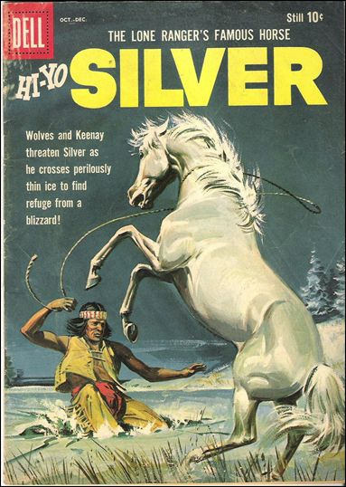Lone Ranger's Famous Horse Hi-Yo Silver 36-A by Dell