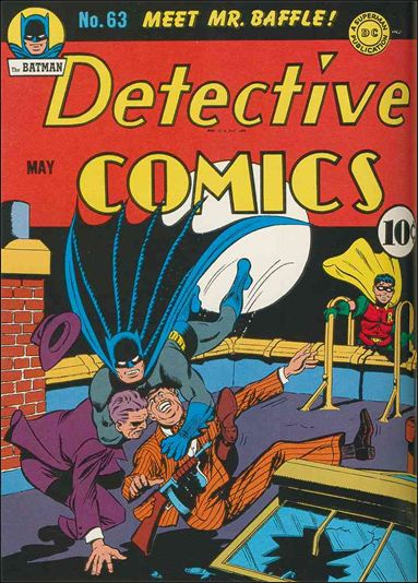 Detective Comics (1937) 63-A by DC