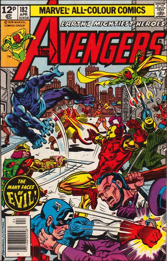 Avengers (1963) 182-B by Marvel