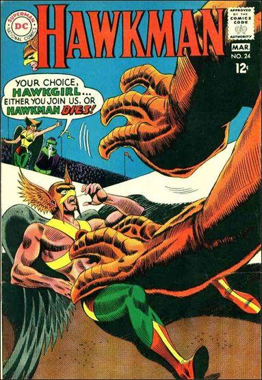 Hawkman (1964) 24-A by DC