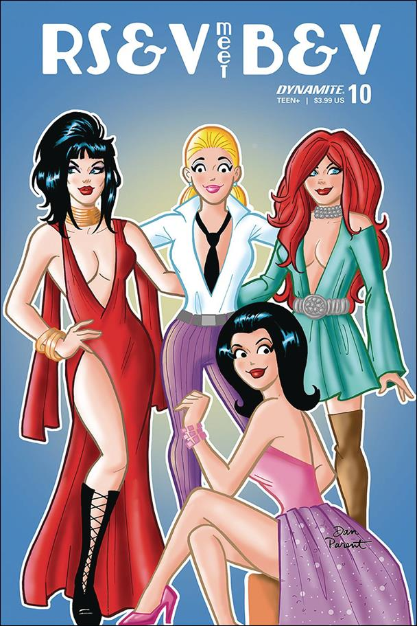 Red Sonja and Vampirella Meet Betty and Veronica 10-D by Dynamite Entertainment