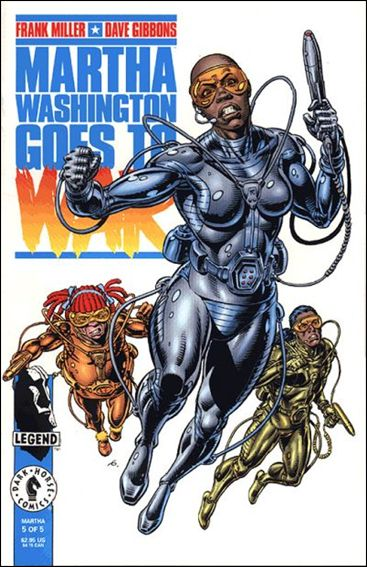 Martha Washington Goes to War 5-A by Dark Horse