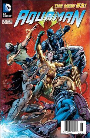 Aquaman (2011) 8-A