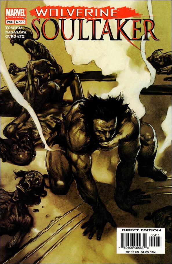 Wolverine: Soultaker 4-A by Marvel