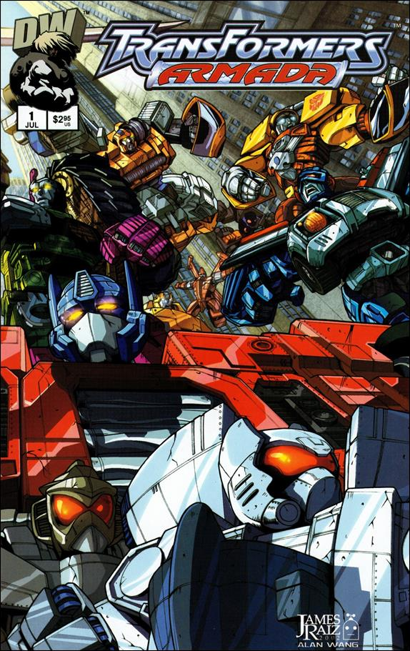 Transformers: Armada (2002) 1-A by Dreamwave