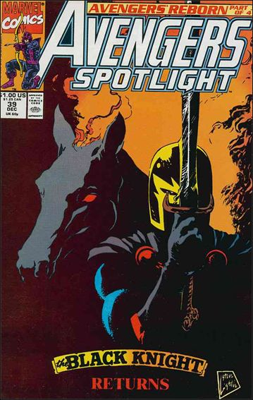 Avengers Spotlight 39-A by Marvel