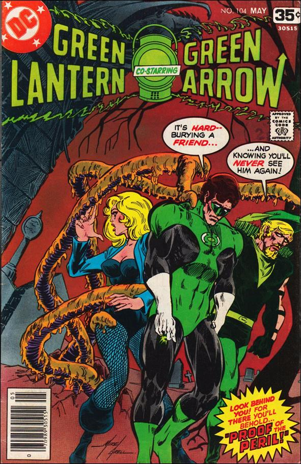 Green Lantern (1960) 104-A by DC