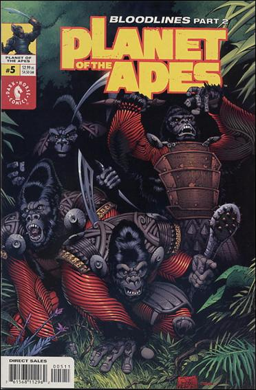 Planet of the Apes (2001/09) 5-A by Dark Horse