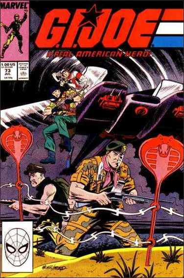 G.I. Joe: A Real American Hero 73-A by IDW
