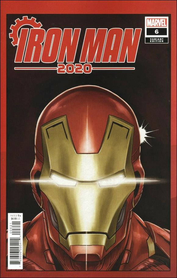 Iron Man 2020 (2020) 6-D by Marvel