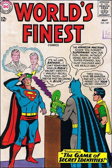World's Finest Comics 149-A by DC