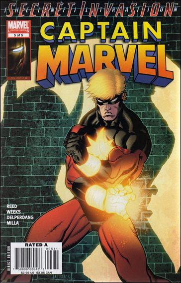 Captain Marvel (2008) 5-A by Marvel