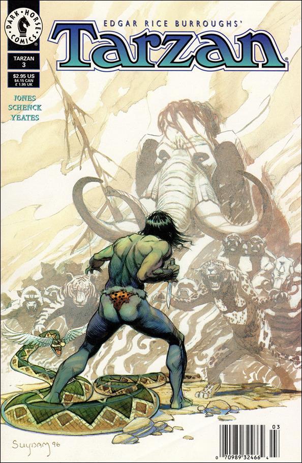 Tarzan (1996) 3-A by Dark Horse