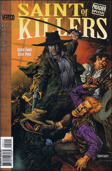 Preacher Special: Saint of Killers 2-A by Vertigo