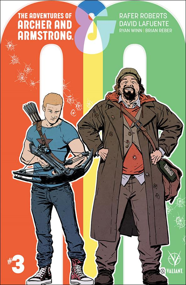 A&A: The Adventures of Archer & Armstrong 3-B by Valiant Entertainment