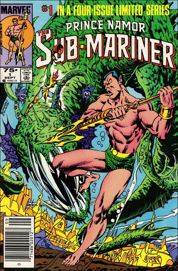 Prince Namor Sub-Mariner 1-A by Marvel
