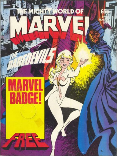 Mighty World of Marvel (UK) (1983) 10-A by Marvel UK