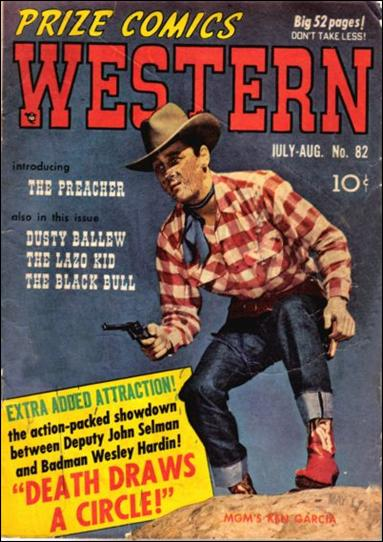 Prize Comics Western 82-A by Feature