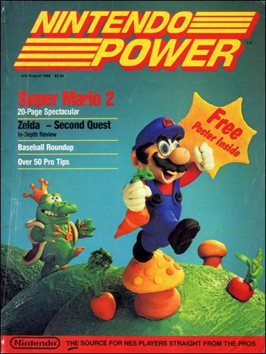 Nintendo Power 1-B by Future Publishing